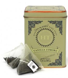Vanilla Comoro - jedwabne piramidy, 20 szt.