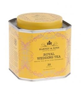 Wedding Tea - jedwabne piramidy, 30 szt.