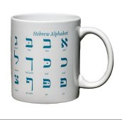 Kubek Hebrew Alphabet