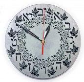 Zegar ścienny drewniany V