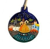Ozdoba ceramiczn Shalom II
